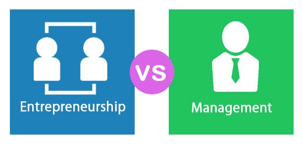 manager vs. antreprenor